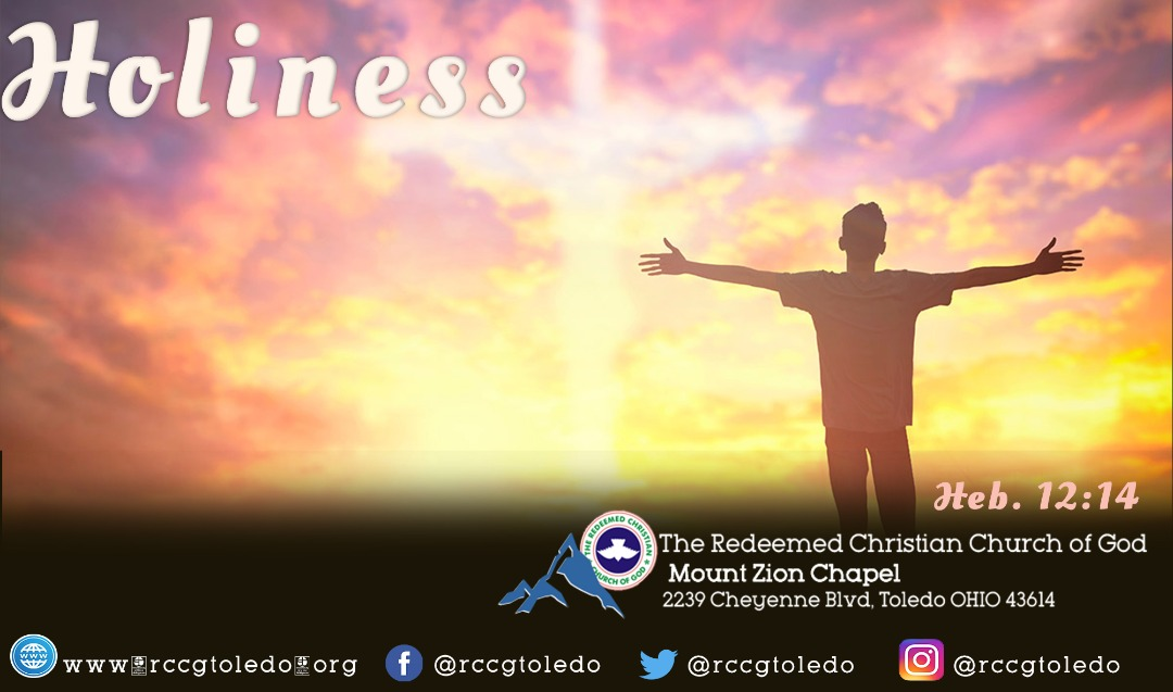 October 2020 –  The Month of Holiness unto The Lord