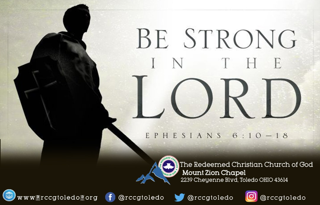 November 2020 – Be Strong in The Lord